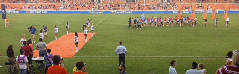 Seat view reviews from BBVA Compass Stadium , home of