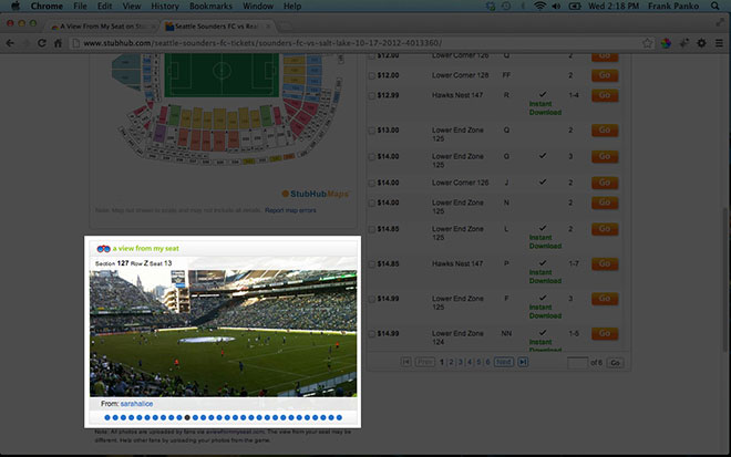Browser Extensions from A View From My Seat