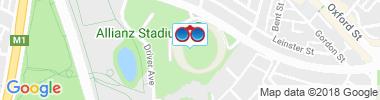 Hotels Near Allianz Park Stadium