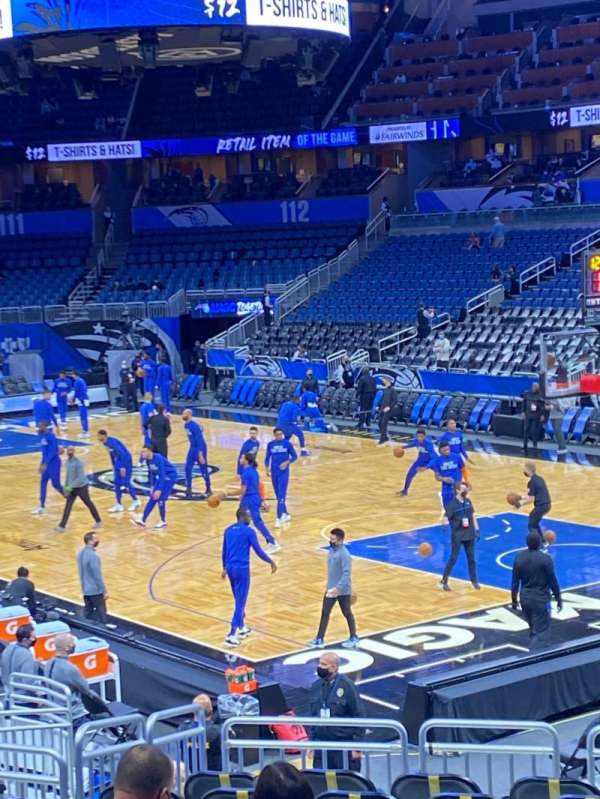 Amway Center, section: 103, row: 17, seat: 4