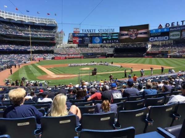 Yankee Stadium, section: 118, row: 13, seat: 6