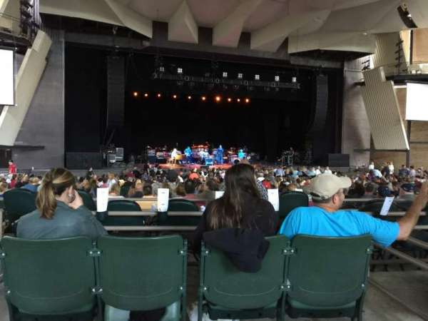 Saratoga Performing Arts Center, section: 19, row: AA, seat: 7