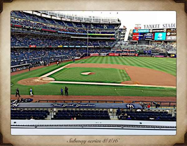 Yankee Stadium, section: 216, row: 1, seat: 7