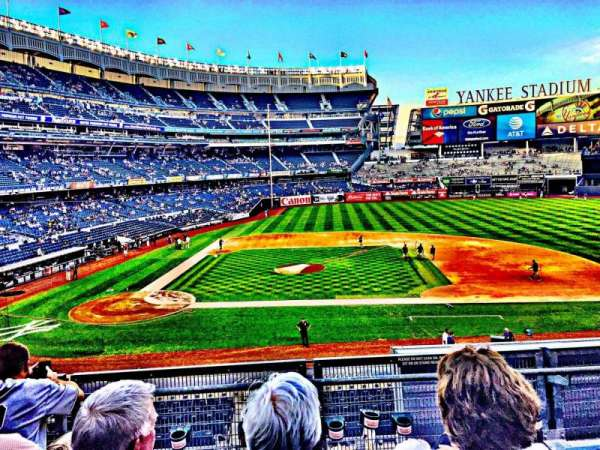 Yankee Stadium, section: 216, row: 4, seat: 13