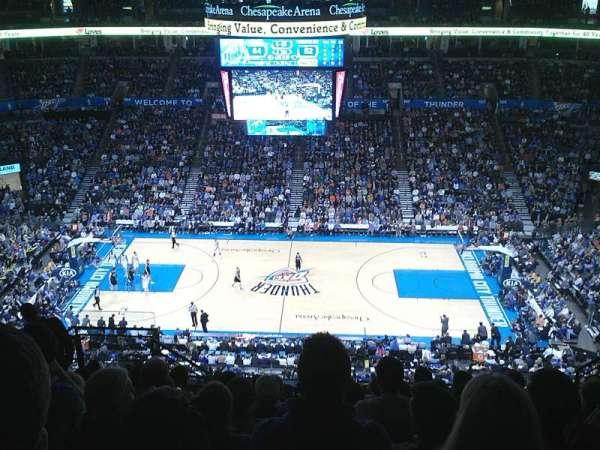 Chesapeake Energy Arena, section: 323, row: L, seat: 16