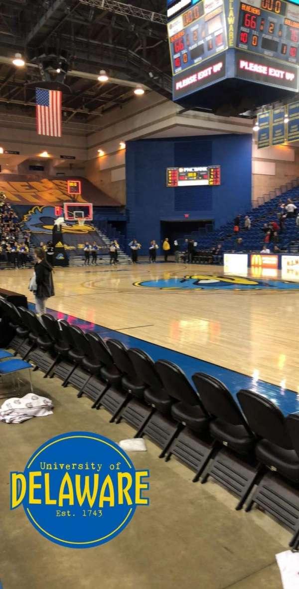 Bob Carpenter Center, section: 19, row: 1, seat: 6-7