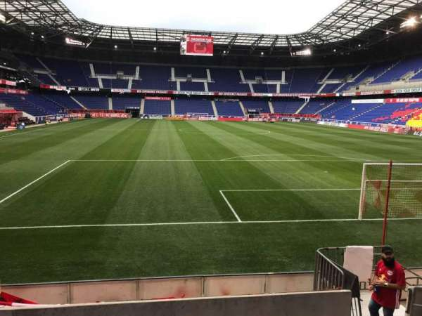 Red Bull Arena Section 102 Home Of New York Red Bulls