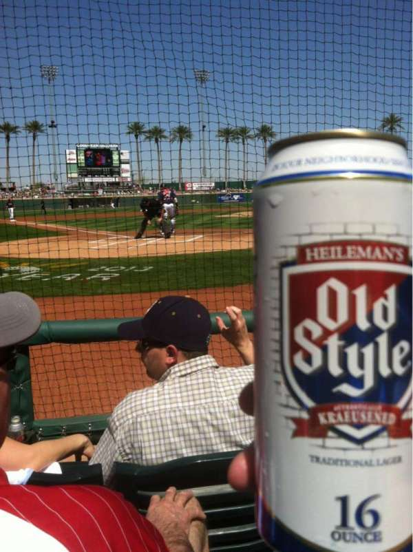 Goodyear Ballpark, section: 113, row: C, seat: 2