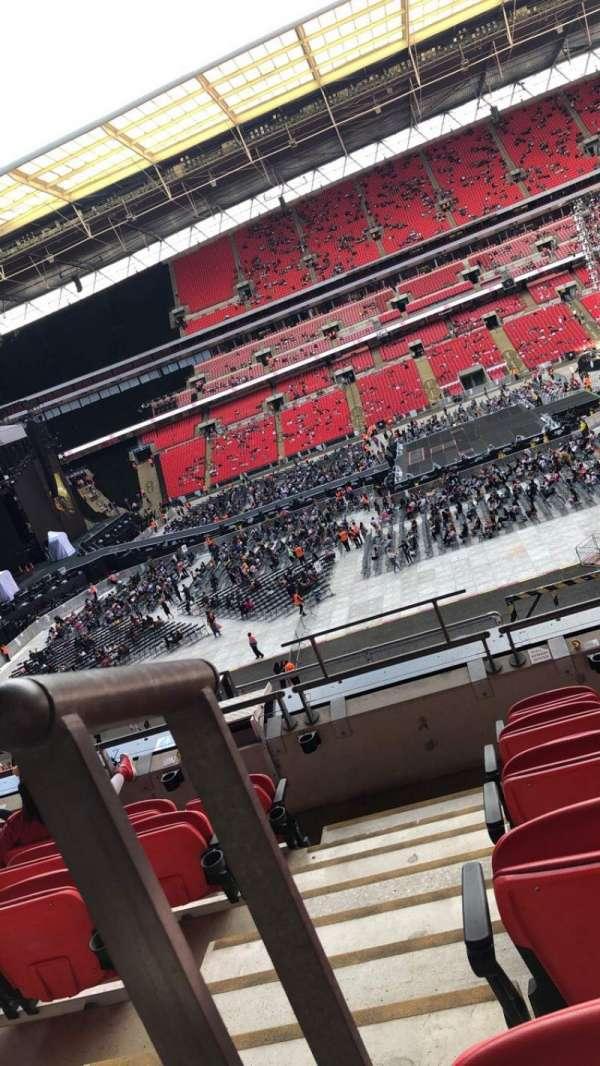 Wembley Stadium, section: 227, row: 6, seat: 12