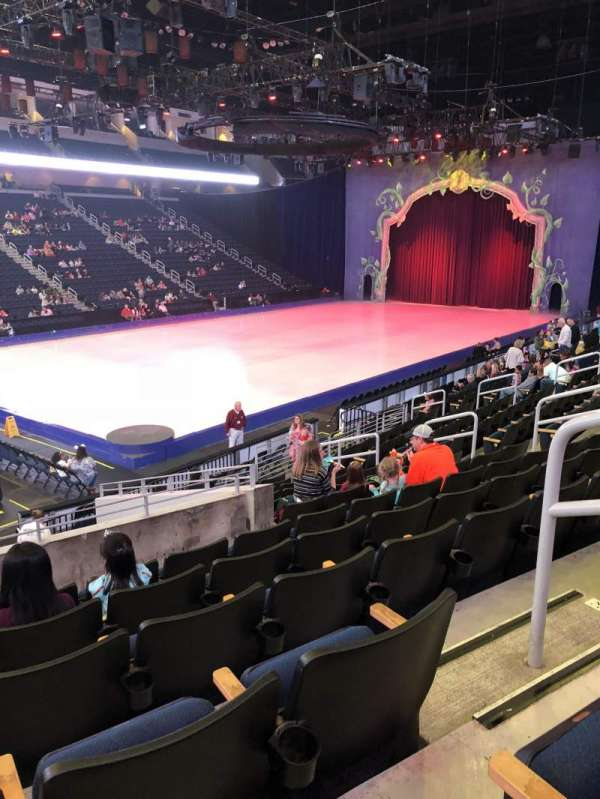 Infinite Energy Arena, section: 102, row: Q, seat: 14
