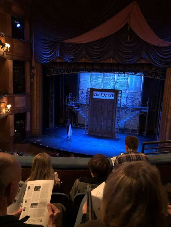 Cabot Theatre at the Broadway Theatre Center, section: Dress Circle, row: C, seat: 13