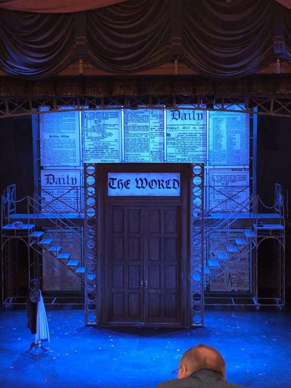 Cabot Theatre at the Broadway Theatre Center, section: Dress Circle, row: C, seat: 9