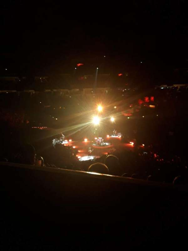 PNC Arena, section: 102, row: YY, seat: 7