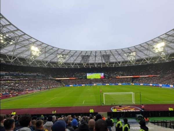 London Stadium, section: 120, row: 22, seat: 55