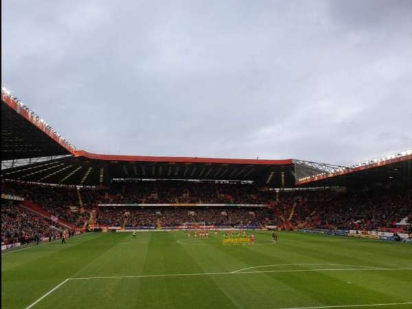 The Valley, section: SSB, row: G, seat: 96