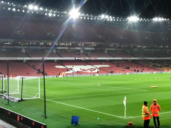 Emirates Stadium, section: 5, row: 5, seat: 155