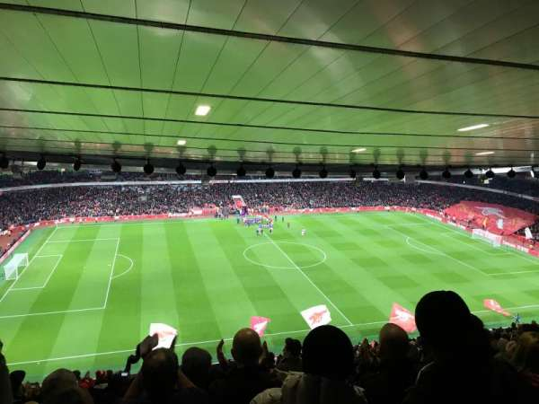 Emirates Stadium, section: 114, row: 30, seat: 662