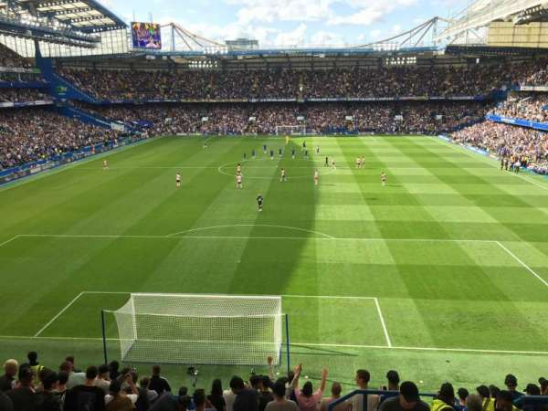 Stamford Bridge, section: Shed End Upper 4, row: 13, seat: 132