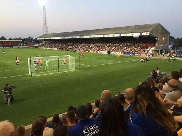 Abbey Stadium, section: J2, row: F, seat: 26