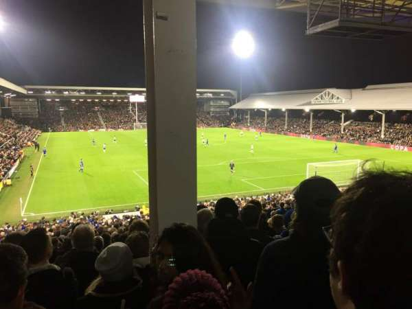 Craven Cottage, section: P6, row: MM, seat: 134