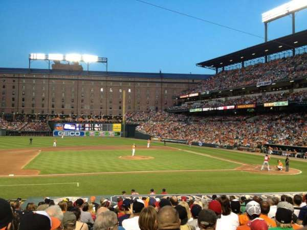 Oriole Park at Camden Yards, section: 52, row: 15, seat: 6