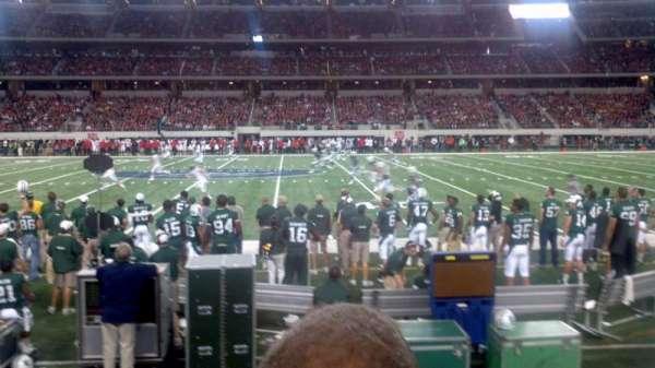 AT&T Stadium, section: C110, row: 2, seat: 12