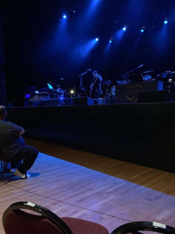 The Wiltern, section: Pit, row: Ccc, seat: 132