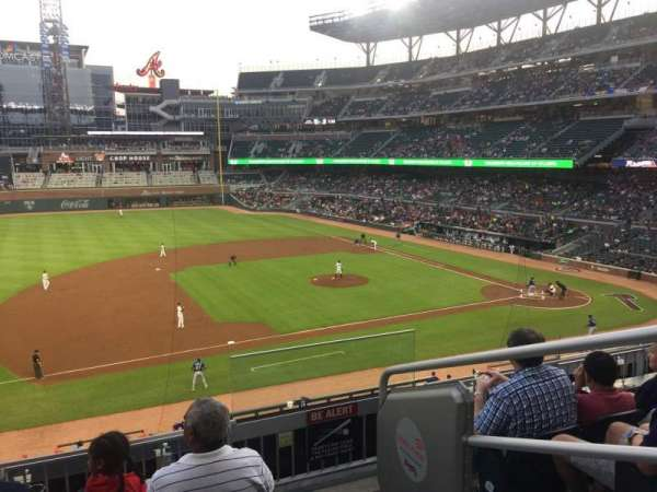 SunTrust Park, section: 235, row: 4, seat: 2
