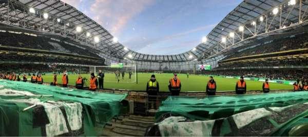 Aviva Stadium, section: 114, row: G, seat: 14