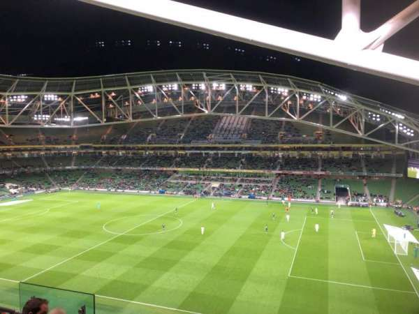 Aviva Stadium, section: 502, row: E, seat: 9