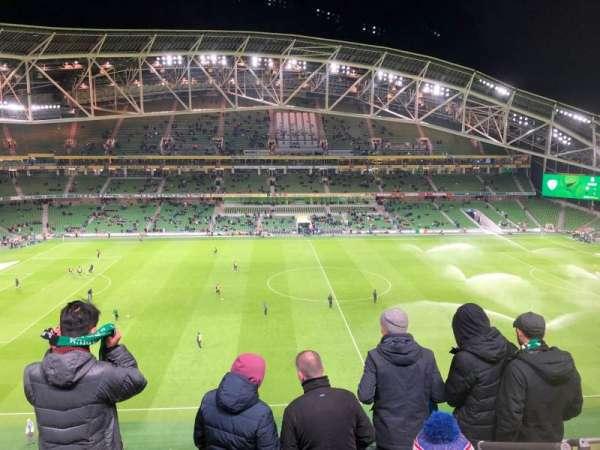 Aviva Stadium, section: 505, row: E, seat: 16