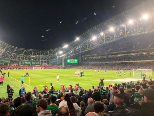Aviva Stadium, section: 117, row: N, seat: 21