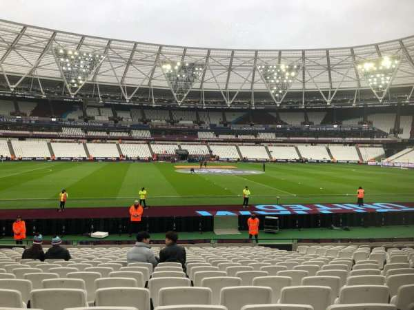 London Stadium, section: 134, row: 18, seat: 294