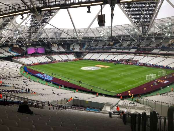 London Stadium, section: 243, row: 61, seat: 218