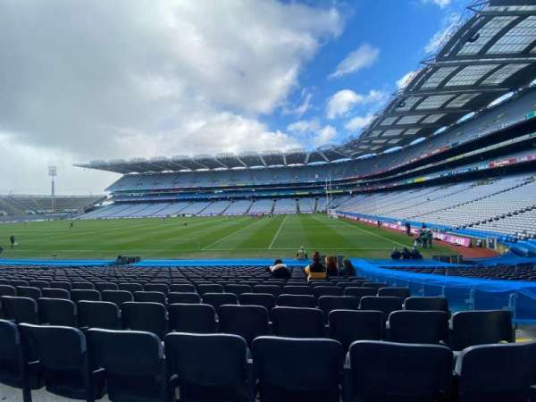 Croke Park, section: 327, row: U, seat: 18