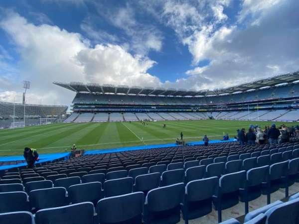 Croke Park, section: 334, row: X, seat: 22