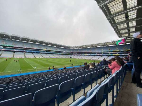 Croke Park, section: 334, row: Z, seat: 22