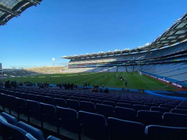 Croke Park, section: 327, row: LL, seat: 17