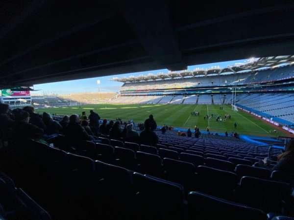 Croke Park, section: 327, row: TT, seat: 32