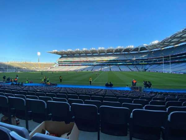 Croke Park, section: 329, row: R, seat: 22