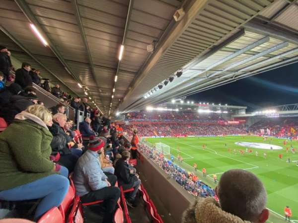 Anfield, section: 221, row: 3, seat: 23