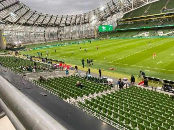 Aviva Stadium, section: 325, row: A, seat: 16