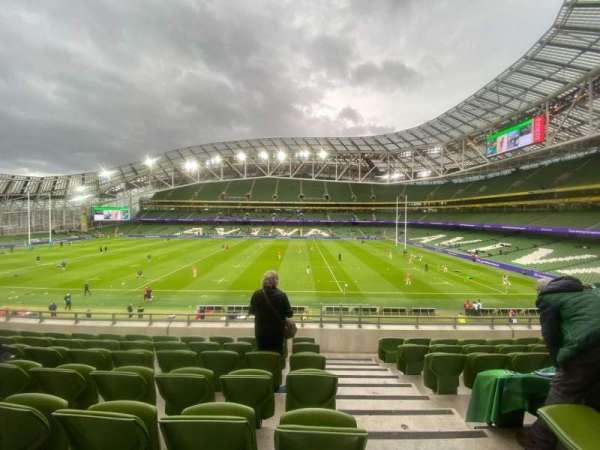 Aviva Stadium, section: 325, row: G, seat: 15