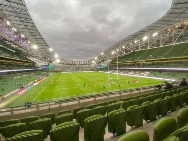 Aviva Stadium, section: 318, row: E, seat: 7