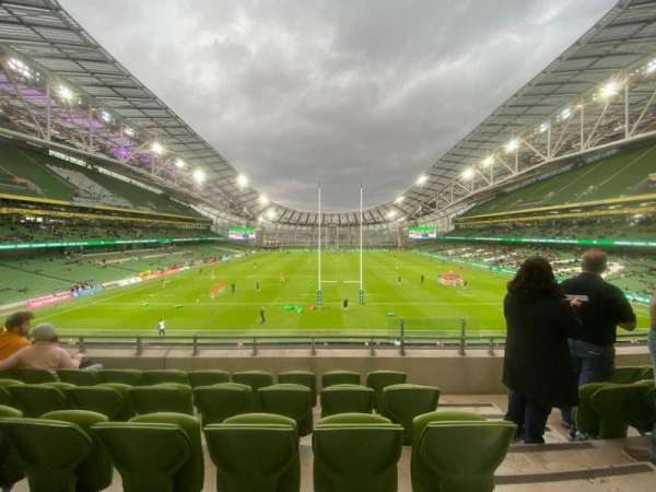 Aviva Stadium, section: 316, row: E, seat: 16