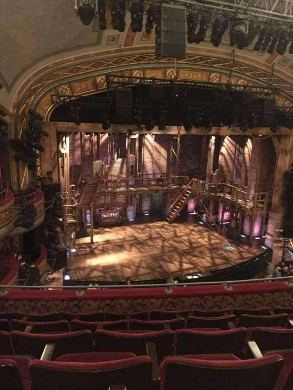 Richard Rodgers Theatre, section: Front Mezzanine L, row: F, seat: 17