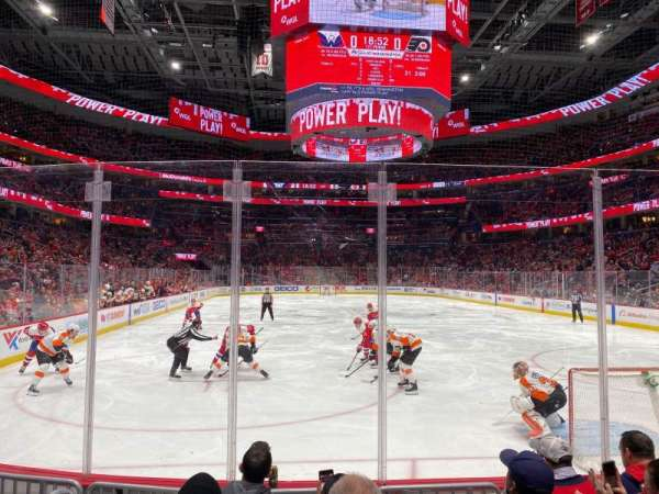 Capital One Arena, section: 105, row: E, seat: 2