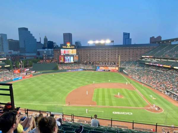Oriole Park at Camden Yards, section: 352, row: 18, seat: 6