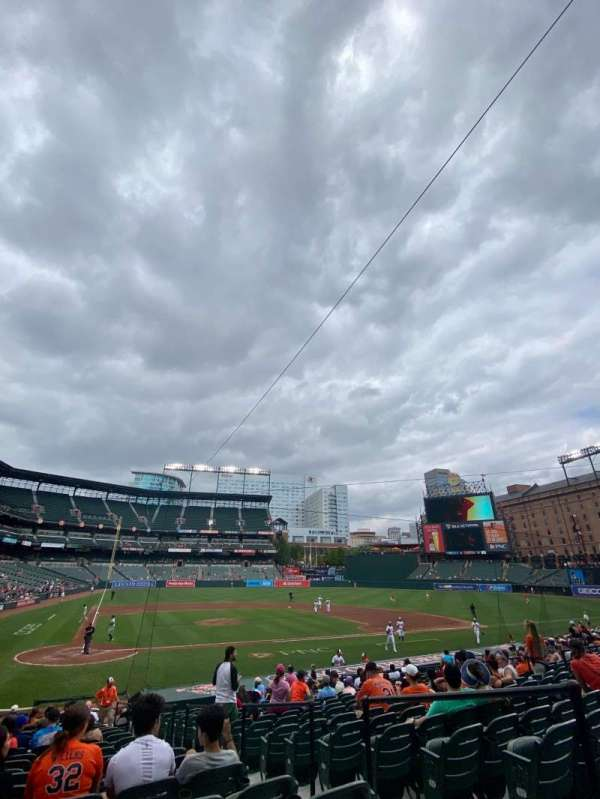 Oriole Park at Camden Yards, section: 30, row: 18, seat: 4
