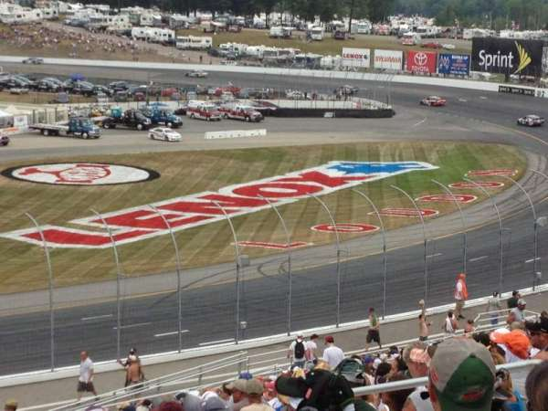 New Hampshire Motor Speedway, section: L, row: 32, seat: 8